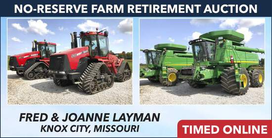 No-Reserve Farm Retirement Auction - Layman