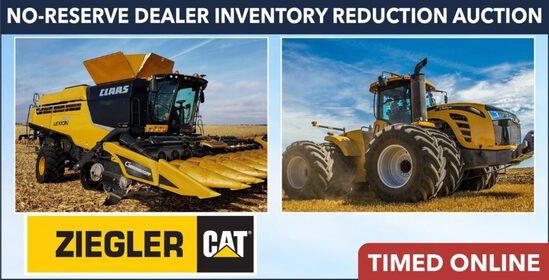 No-Reserve Dealer Inventory Reduction -Ziegler Cat