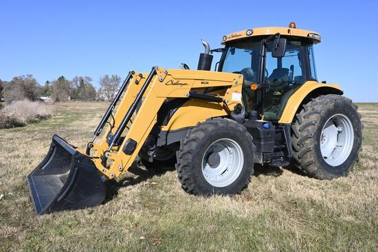 2015 Challenger MT465D MFWD tractor