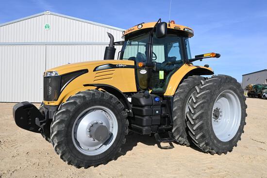 2013 Challenger MT595D MFWD tractor