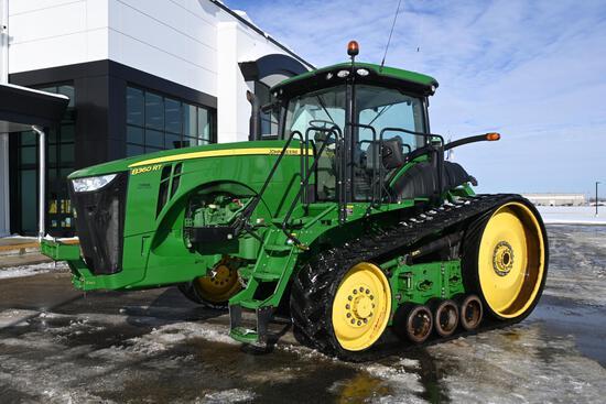 2013 John Deere 8360RT track tractor