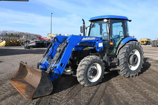 2004 New Holland TD5050 MFWD utility tractor