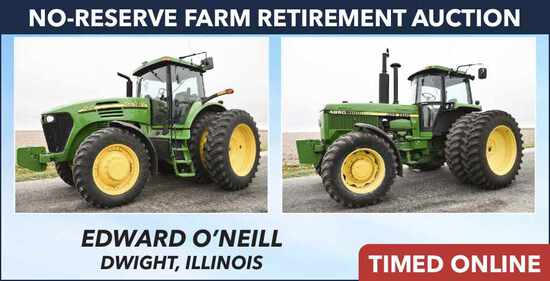 No-Reserve Farm Retirement Auction - O'Neill