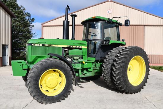 1986 John Deere 4850 MFWD tractor