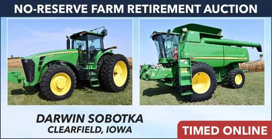 No-Reserve Farm Retirement Auction - Sobotka