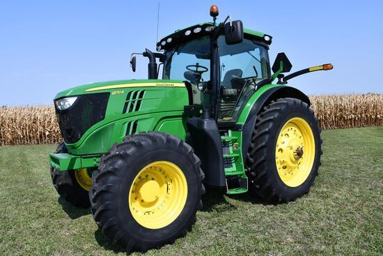 2014 John Deere 6170R MFWD tractor