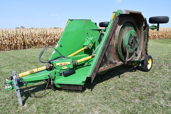 2011 John Deere CX15 15' batwing mower