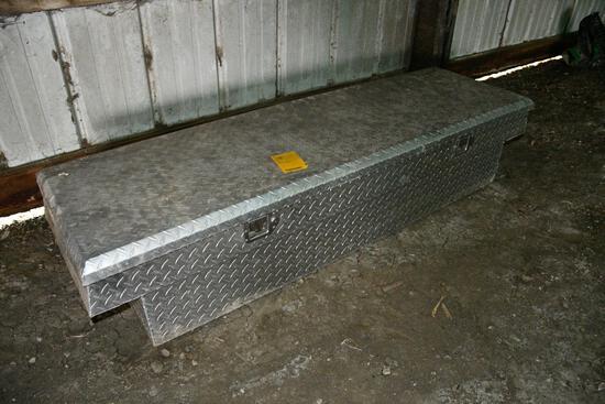 Delta aluminum truck toolbox