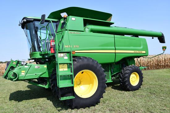 2011 John Deere 9670 STS STS 4wd combine