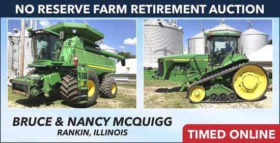 No Reserve Farm Retirement Auction - McQuigg