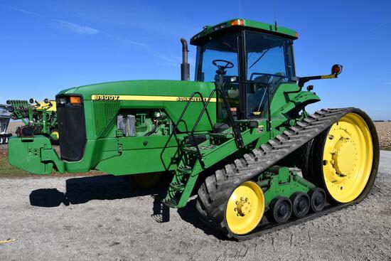 1999 John Deere 8400T track tractor