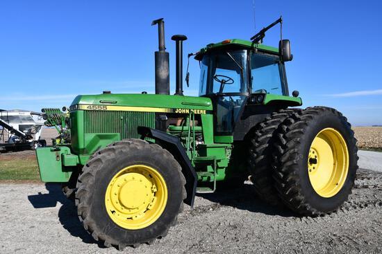 1990 John Deere 4555 MFWD tractor