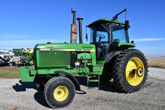 1988 John Deere 4650 2wd tractor