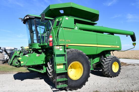 2008 John Deere 9770 STS 4wd combine