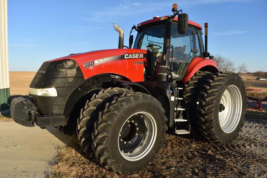 2014 Case-IH 380 Magnum MFWD tractor