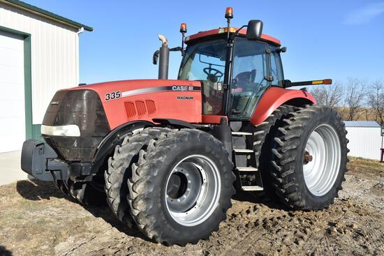 2009 Case-IH 335 Magnum MFWD tractor