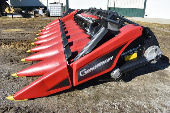 "2012 Geringhoff NorthStar Elite XL 8-row 30"" corn head"