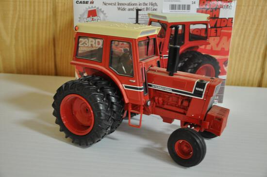 1976 international harvester 1066 1/16 scale with removeable front weights