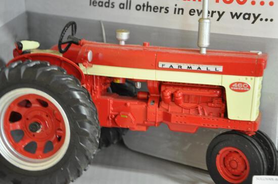 ertl farmall 460 and 560 tractors 1/16 scale
