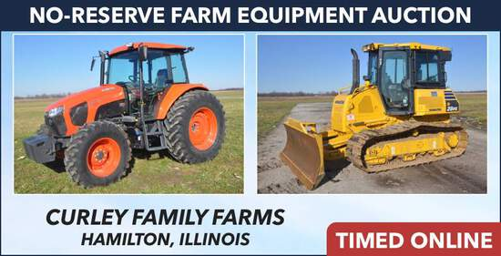 No-Reserve Farm Equipment Auction - Curley