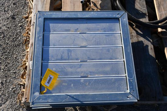 """(2) 18""""x18"""" louvered vents"""
