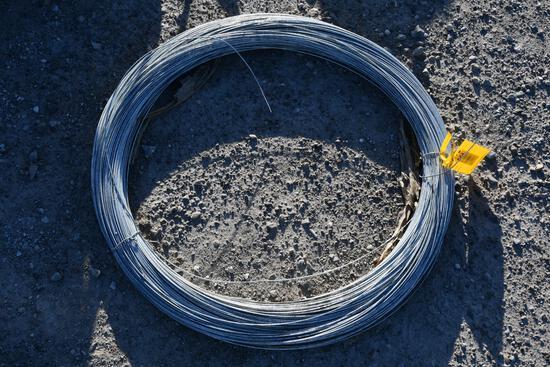 roll of 12.5 gauge galvanized wire