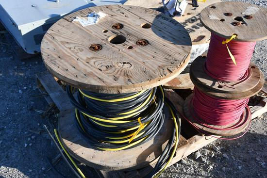 partial roll of 600 volt type 2 aluminum wire