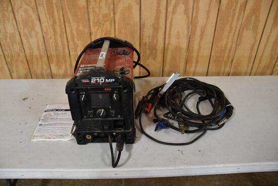Lincoln Power Mig 210 MP electric power mig welder
