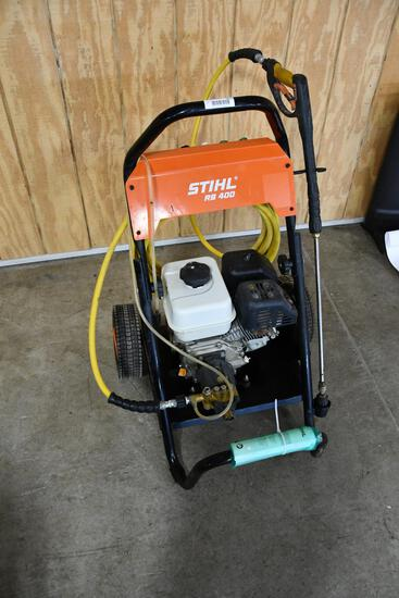Stihl RB 400 gas powered pressure washer