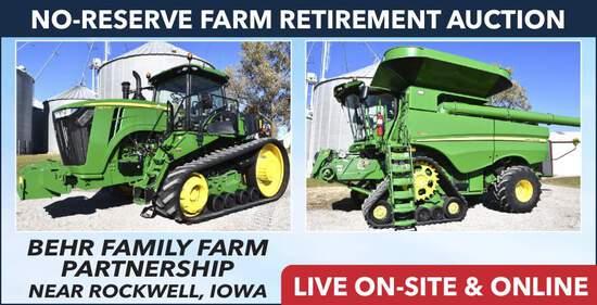 No-Reserve Farm Retirement Auction - Behr