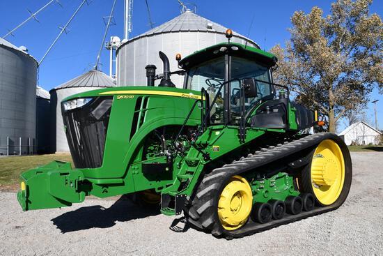 2018 John Deere 9570RT track tractor