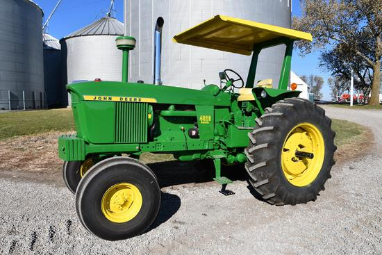 1972 John Deere 4020 2wd tractor