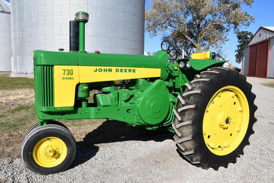 1959 John Deere 730 2wd tractor