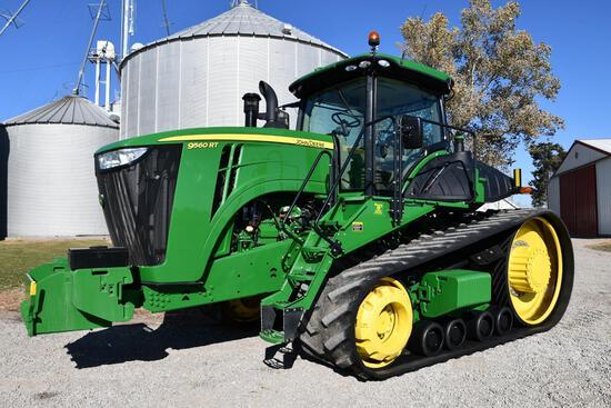 2013 John Deere 9560RT track tractor