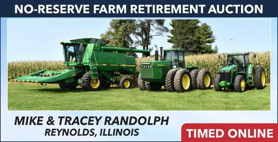 No-Reserve Farm Retirement Auction - Randolph