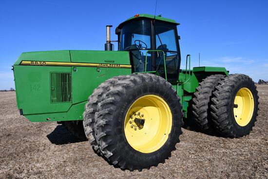 1995 John Deere 8870 4wd tractor