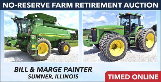 No-Reserve Farm Retirement Auction - Painter