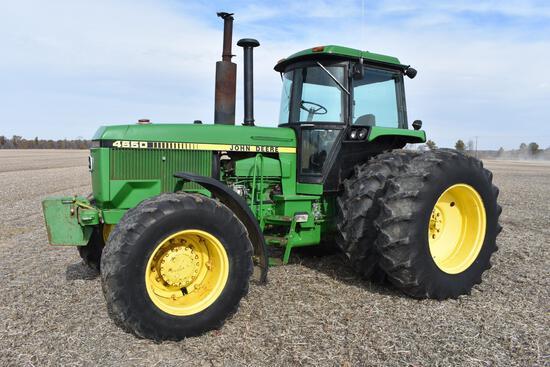 1983 John Deere 4650 MFWD tractor