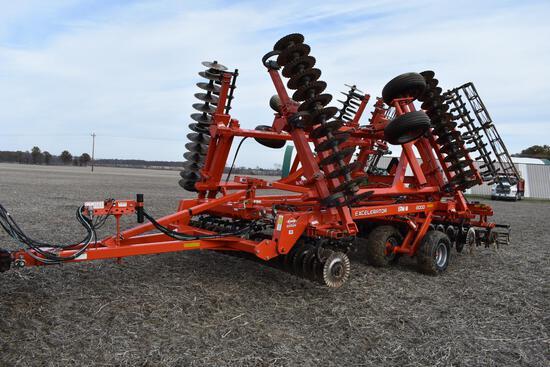 2013 Kuhn Krause 8000 30' Excelerator vertical tillage tool