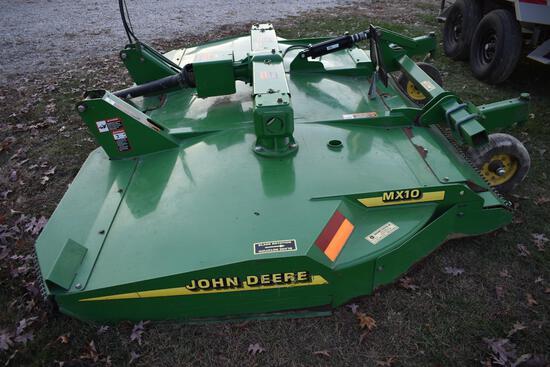 John Deere MX10 10' 2-pt. mower