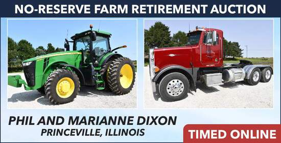 No-Reserve Farm Retirement Auction - Dixon