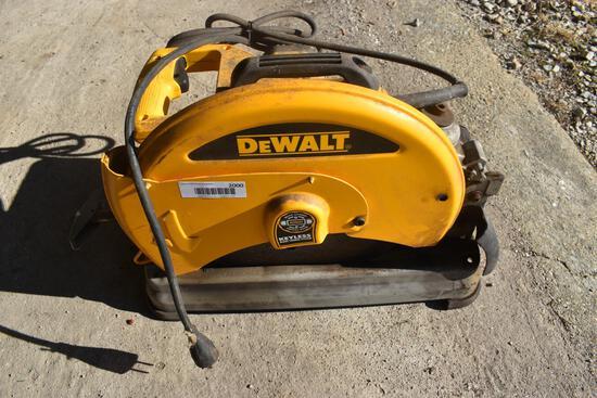 Dewalt electric chop saw
