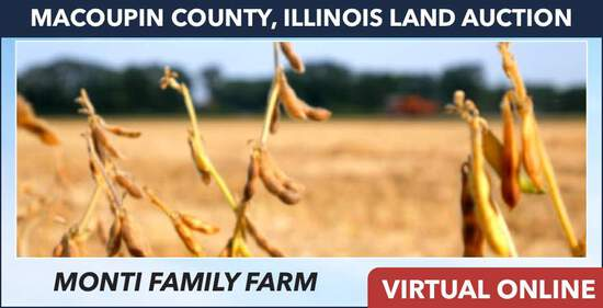Macoupin County, IL Land Auction - Monti