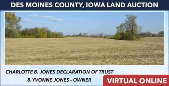 Des Moines County, IA Land Auction - Jones