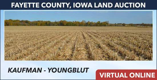 Fayette County, IA Land Auction -Kaufman-Youngblut