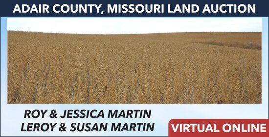 Adair County, MO Land Auction - Martin