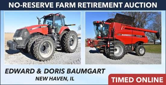 No-Reserve Farm Retirement Auction - Baumgart