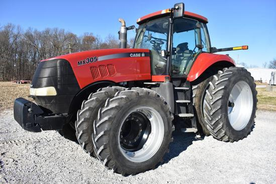2006 Case-IH MX305 MFWD tractor