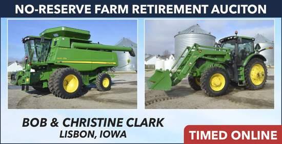 No-Reserve Farm Retirement Auction - Clark