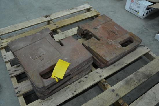 (5) International front suitcase weights